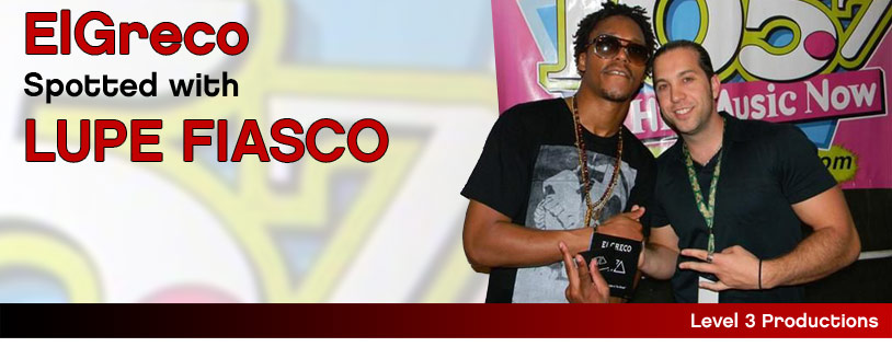 Elgreco spotted with Lupe Fiasco